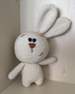 Mrs M - hand made knitted, crocheted or weaved